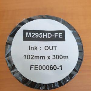 DNP M295 HD High Density Near Edge Wax Resin Thermal Transfer Ribbon